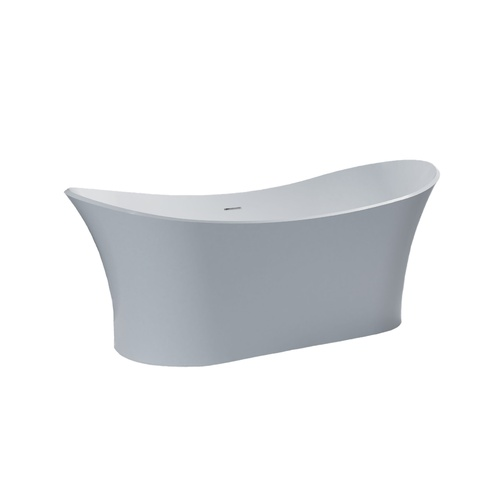 Solid Surface Free Standing White Matt Bath Tub Model Tivoli GC1020 1750mm