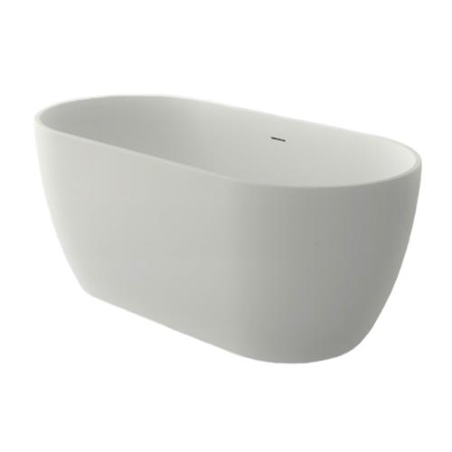 Solid Surface Free Standing Bath Tub Model Carrara GC65103 1500mm